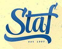 Staf Magazine - Abril
