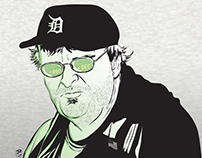 Portrait of Michael Moore