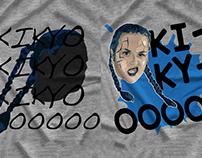"""Fallen Flower"" Kikyo T-Shirts"