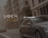 UBER LUXURY App UI/UX Design