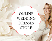 Online store of wedding dresses.