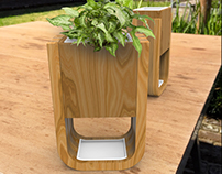 Grow-in Flowerpot
