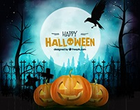 Dark Halloween Backgrounds - Vector Free for Freepik