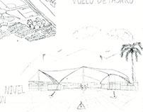pabellón ciudad montes, composición ciudad y técnico 2