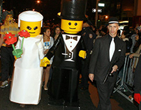 Lego Costumes - Lego Bride and Groom