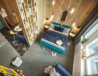 AMSTERDAM. FUNCTION: HOTEL APARTAMENTS