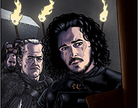 The Betrayal of Jon Snow | Game Of Thrones Print