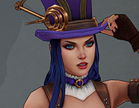 Riot contest: Caitlyn