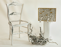 "Installation ""Racines"" Boghossian Foundation"