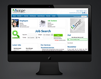 Merge Recruitment Web Site