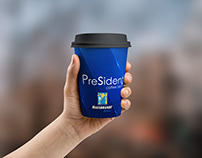 Coffee Cup for President Cafe