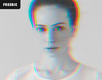 Free Download: 3D Anaglyph Photoshop Effect
