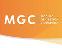 MUI / Interfaz módulo ubano interactivo