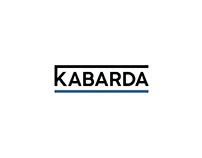 """Kabarda"" logo and branding concept for sport style"