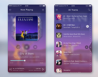 Music Player App UI Template