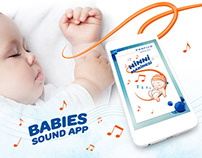 "Sound app for babies. ""Profilo Ninni Makinesi"""