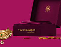 YOUNIS GALLERY__logo and corporate design
