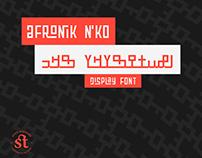 Afronik N'ko Font