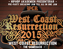 Westcoast Resurrection Poster