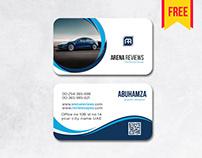 Car #visitingcard design free download