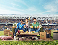 Uber Eats - Cricket World Cup Campaign