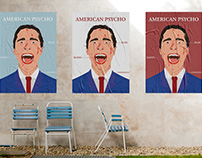 American Psycho Film Poster Series