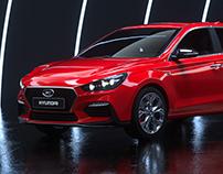 Hyundai i30 3D Image