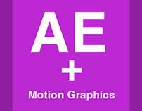 After Effects and Motion Graphics