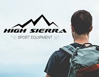 High Sierra landing page