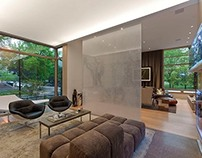 Chicago Residence by Dirk Denison Architects
