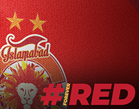 The New Islamabad United Jersey - Full Campaign