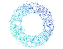 Floral circle