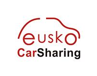 Diseño logotipo Asociación Eusko Car Sharing