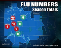 Flu Numbers Interactive Map