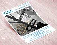 Flyer de spectacle & ébauche de site - Cie Cassandre