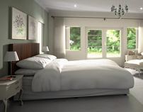 Classic Bedroom 3D Arch Viz