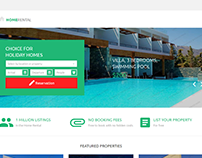 Home Rental Landing Page Template