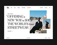 Stüssy Online Store