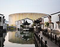 无锡太湖剧院 / Steven Chilton Architects
