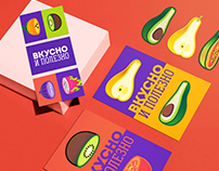 Rebranding concept / Tasty and Healthy