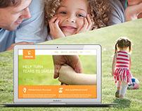 Orphan Care Website Design