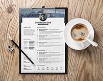 Free Timeline CV/Resume Template