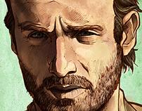 The Walking Dead Portraits