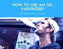 How to use an oil vaporizer?
