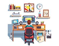 Designer & Programmer Desktops