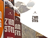 Z'am steg •• brand identity/packaging