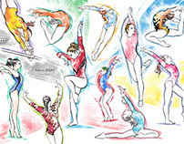 women's gymnastics competition
