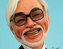 Fan art tribute to Hayao Miyazaki