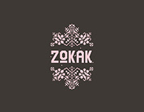 ZOKAK Restaurant/Cafe Branding