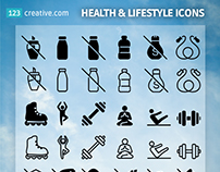 FREE Health & Lifestyle icons